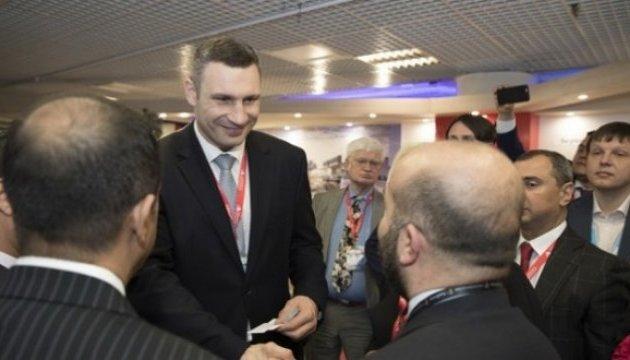 Кличко презентував інвестиційний потенціал Києва на виставці нерухомості в Каннах