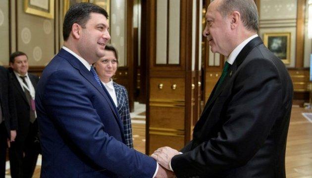 За що Володимир Гройсман отримав у Туреччині «дуже міцний сигнал»