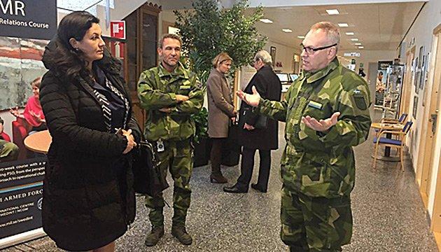 Швеції цікавий бойовий досвід України