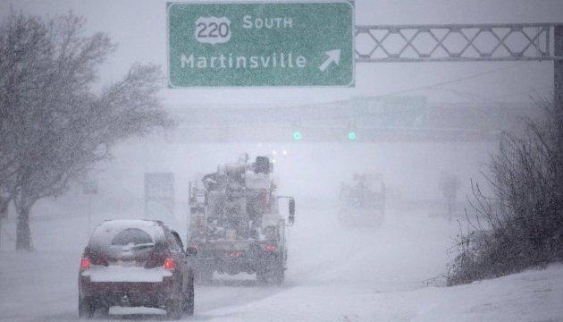 Зимовий шторм у США забрав життя п'ятьох людей