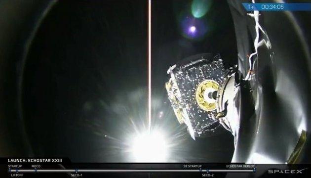 SpaceX успішно вивів на орбіту супутник EchoStar
