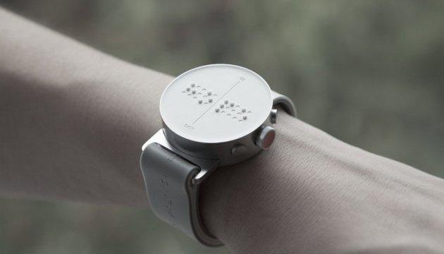 Dot Watch: продаж годинника зі шрифтом Брайля стартує з 1 квітня