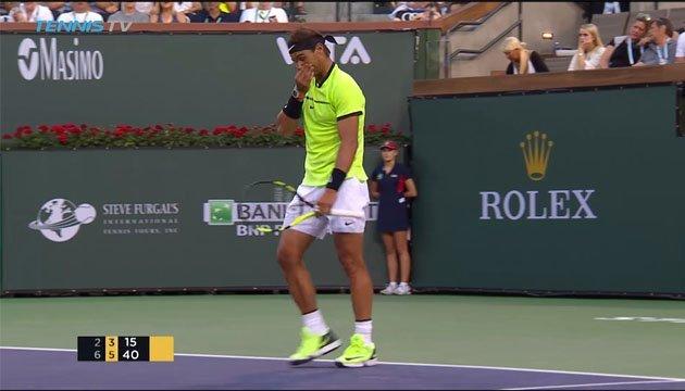 Федерер, Кірьос і Ваврінка не без сенсацій вийшли до чвертьфіналу ATP Masters