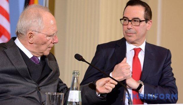 Міністр фінансів США заявив, що Трамп вірить у вільну торгівлю