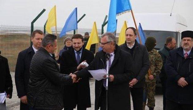 Стець анонсував будівництво ще однієї телевежі біля адмінмежі з Кримом