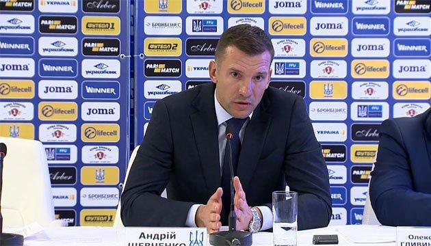 Збірна України з футболу вже завтра виїжджає до Австрії – Андрій Шевченко