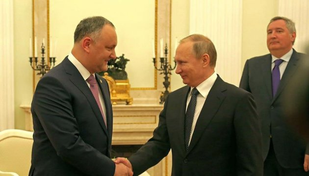Додон подарував Путіну колекційне вино Cricova і запропонував договір