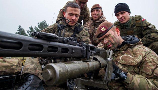 До Естонії прибули перші військові групи швидкого реагування НАТО
