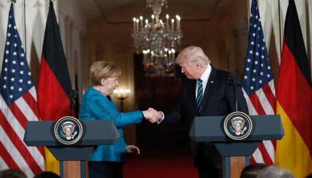 Меркель хоче добрих відносин зі США попри розбіжності із Трампом