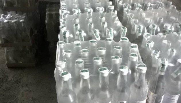 У зоні АТО вилучили контрафактного алкоголю на 30 мільйонів