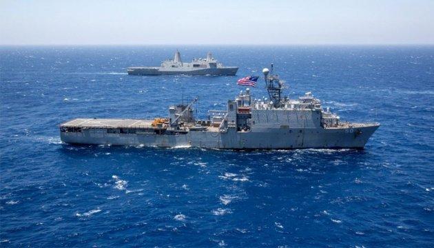 Американський десантний корабель увійшов в акваторію Чорного моря