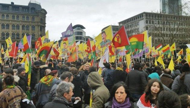 30 тисяч курдів протестували проти Ердогана в Німеччині