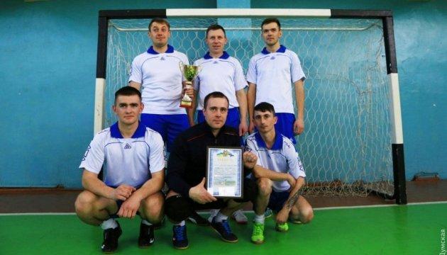 Українські моряки перемогли НАТО у футбол