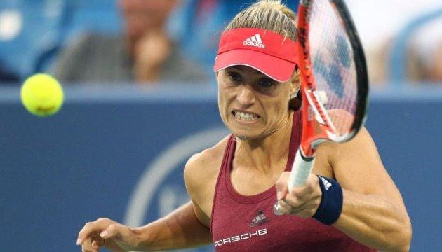 Кербер вновь возглавила рейтинг WTA; Свитолина замыкает топ-10