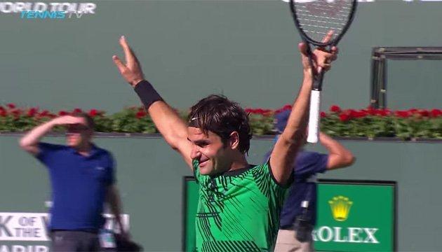 Федерер стал победителем «Мастерса»: видео лучших моментов