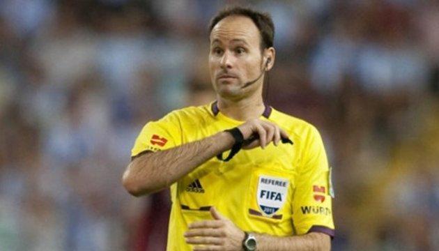 Матч сборной Украины в Хорватии доверили арбитрам из Испании