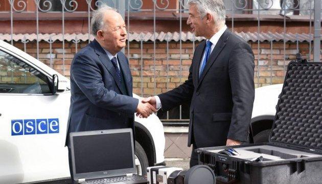 Германия передала миссии ОБСЕ в Украине три камеры наблюдения