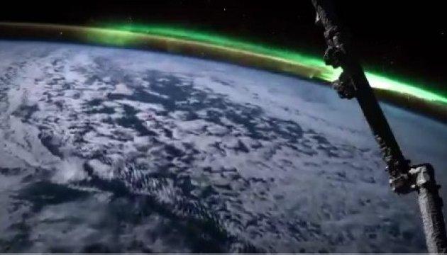 В NASA показали, як виглядає північне сяйво з космосу