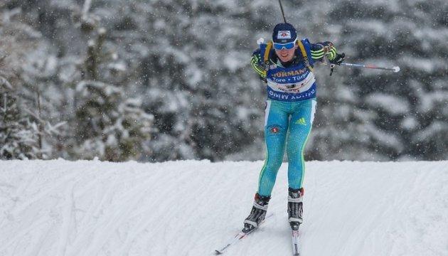Ирина Варвинец стреляла лучше Фуркада в биатлонном сезоне