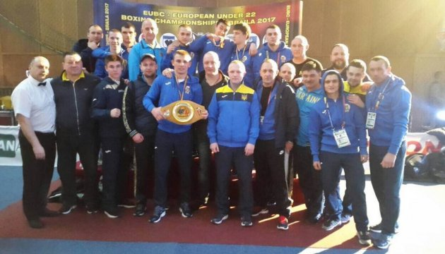 Украинские боксеры завоевали пять наград на чемпионате Европы-2017