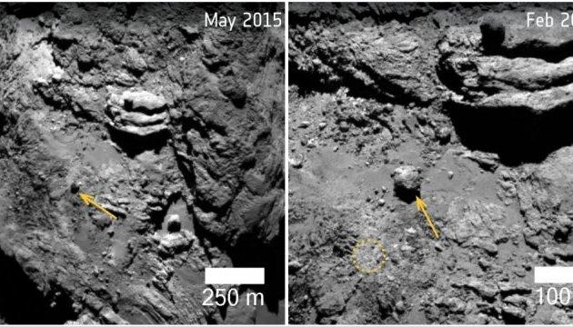 Астрономы заметили, как разрушается комета Чурюмова-Герасименко