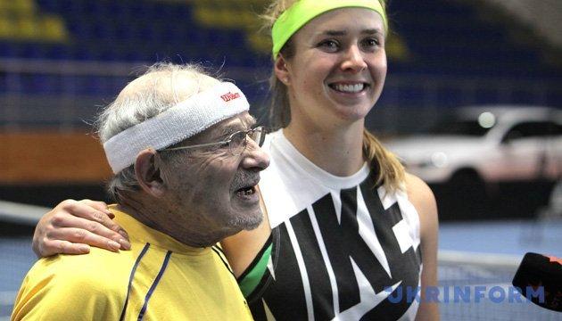 Старейший теннисист Европы об игре с Элиной Свитолиной