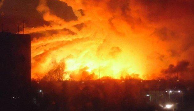 Взрыв в Балаклее: военные проводят эвакуацию местных жителей