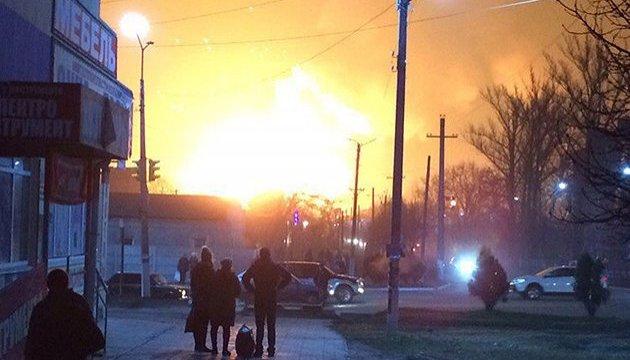 На військових складах під Балаклією досі тривають вибухи