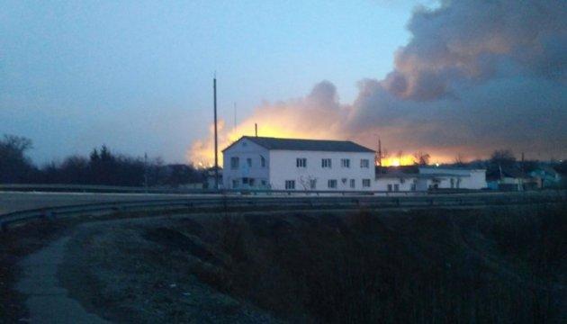 Verteidigungsminister Poltorak: Brand in Munitionslager durch Sabotageakt verursacht