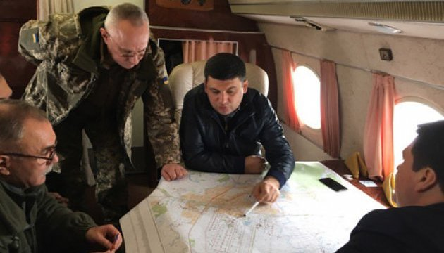Гройсман вже на Харківщині і прямує до Балаклії
