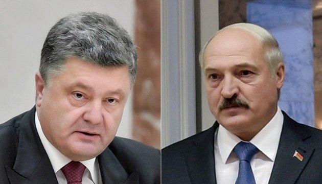 Poroschenko telefoniert mit Lukaschenko