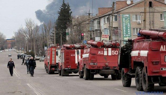 Пожежа на арсеналі в Балаклії повністю ліквідована - Міноборони