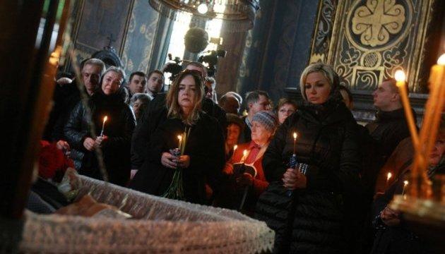 У Володимирському соборі відспівують Дениса Вороненкова