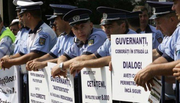 Румынские полицейские протестуют вместо празднований: хотят большую зарплату