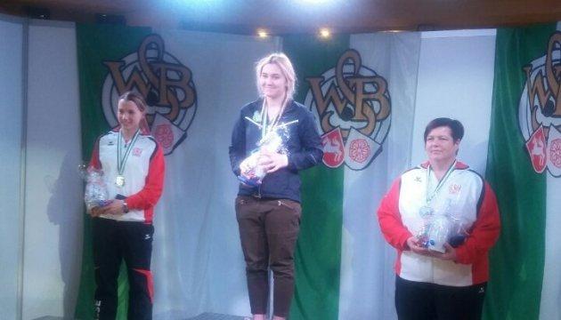Украинка Конарева стала чемпионкой по стрельбе из пневматического пистолета