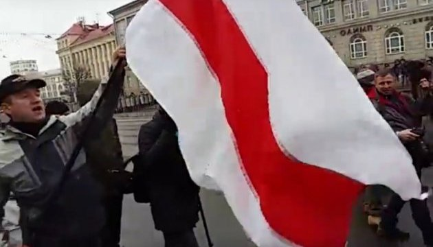 ОМОН хапає протестувальників у центрі Мінська