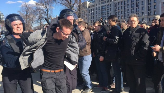 #ДимонОтветит: полиция Москвы говорит о более 500 задержанных