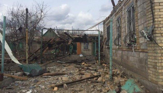 Поліція показала Авдіївку після обстрілу бойовиків
