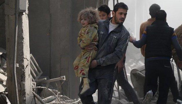 От ударов авиации Асада возле Дамаска погибли 17 гражданских