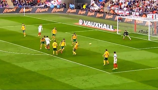 Збірна Англії єдина не пропустила жодного голу у відборі ЧС-2018