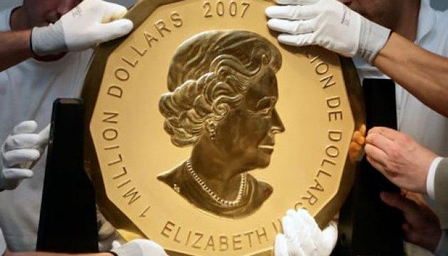 У Берліні з музею через вікно винесли 100-кілограмову золоту монету