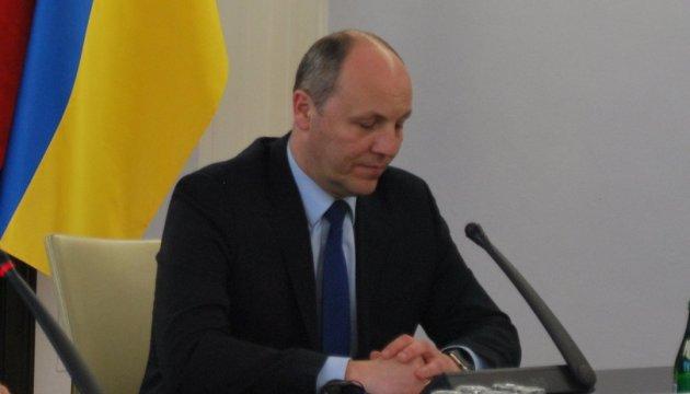 Парубій пропонує ПА НАТО розглянути резолюцію щодо російської агресії проти України