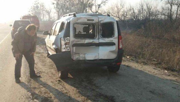 Масштабна ДТП на Полтавщині: зіштовхнулися сім авто