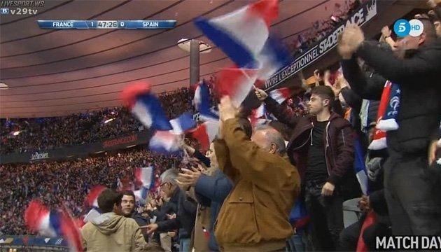 Відеоповтори зіграли проти Франції у товариському матчі з Іспанією