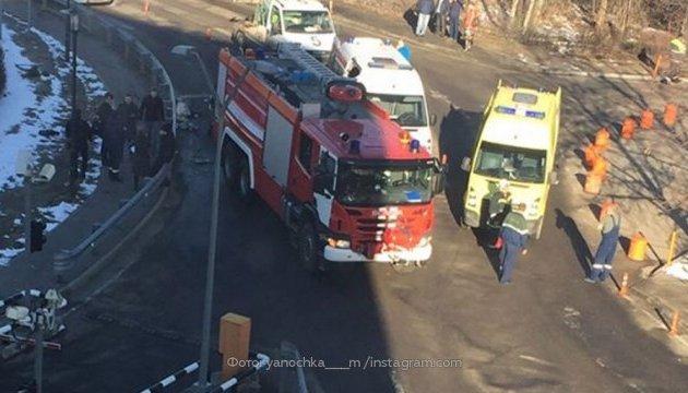 У Домодєдово пожежна машина збила дев'ятьох людей, загинула жінка
