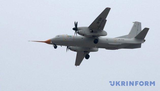 Первый полет нового Ан-132Д