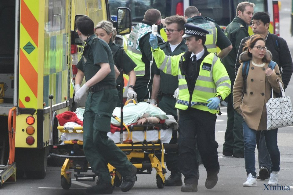 Four people have been killed in the terrorist attack in London / Photo: Xinhua / Ukrinform