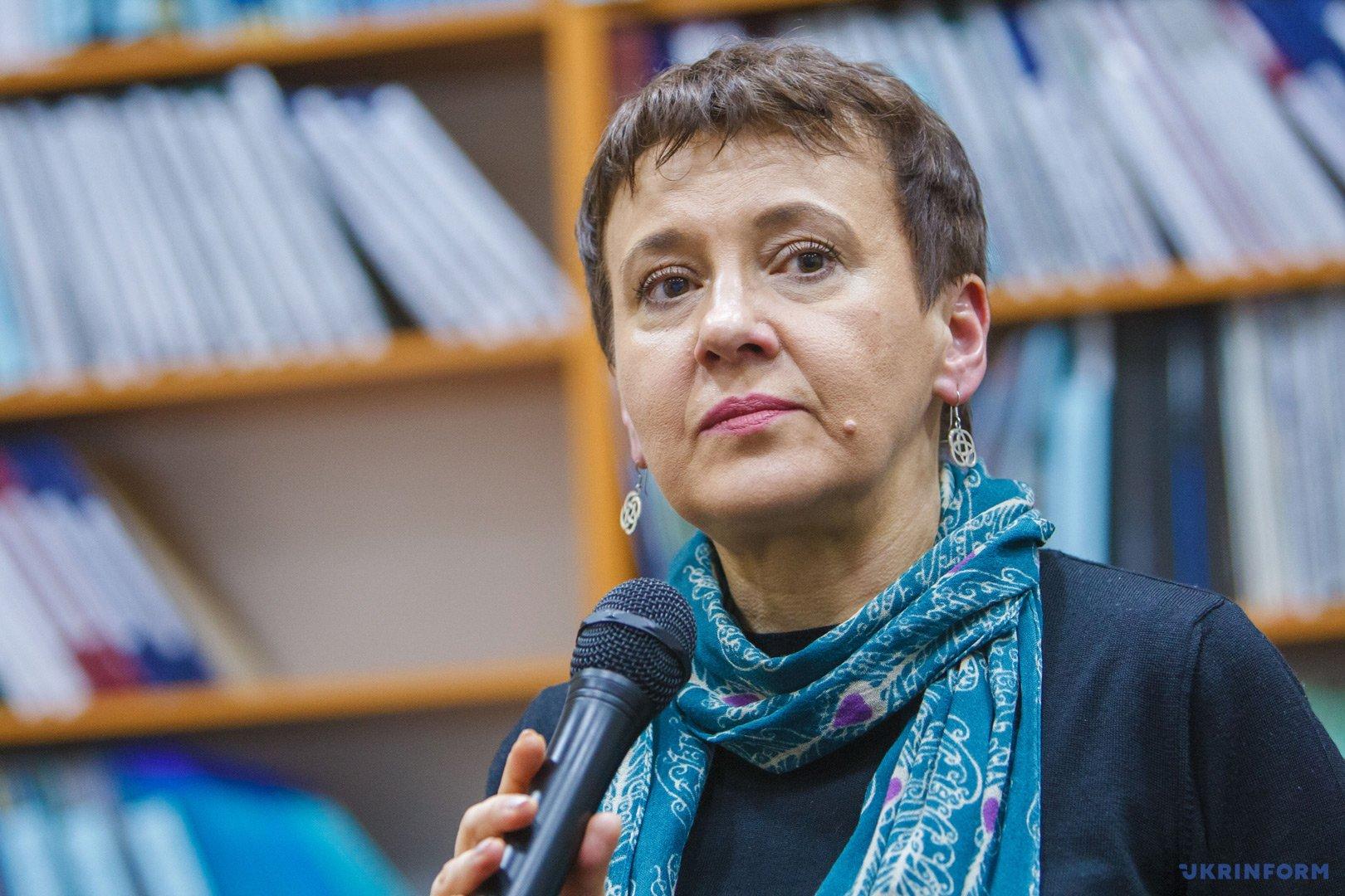 Оксана Забужко // Фото: Сергій Гудак