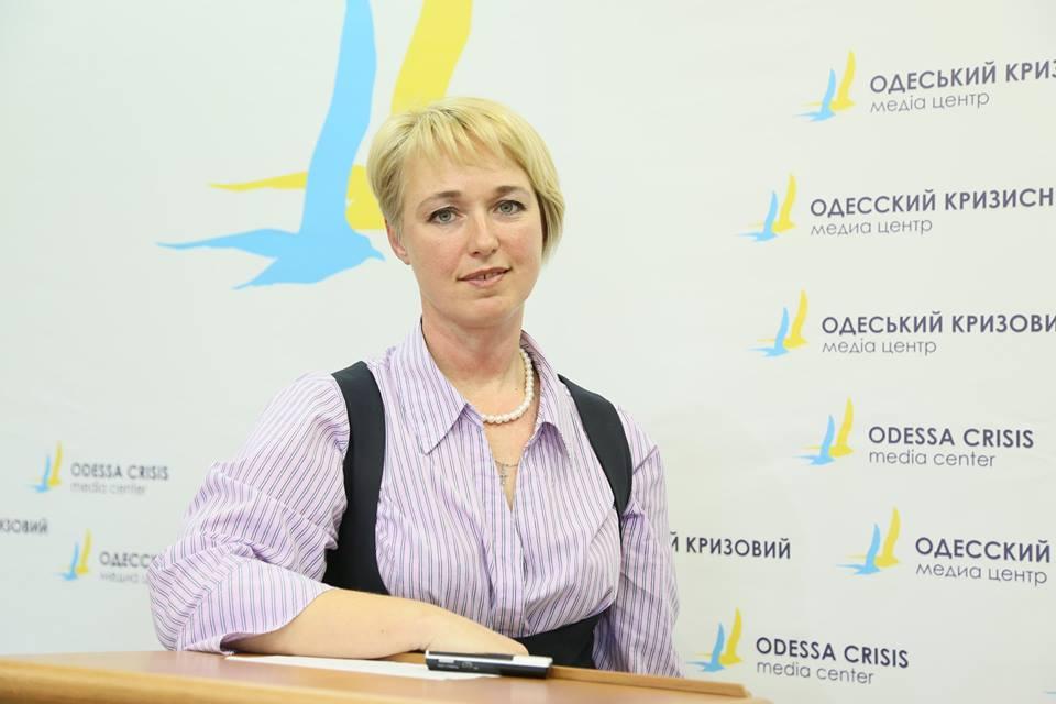 Юлия Молодожен. Фото: odcrisis.org