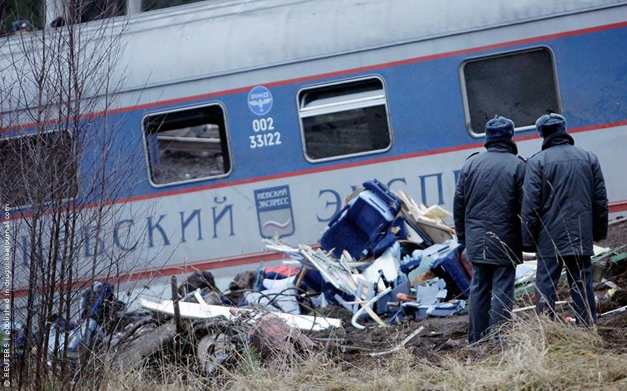 Катастрофа «Невського експресу» (4 лютого, 2007 року)